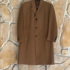 JoS A. Banks Camel Trench Coat